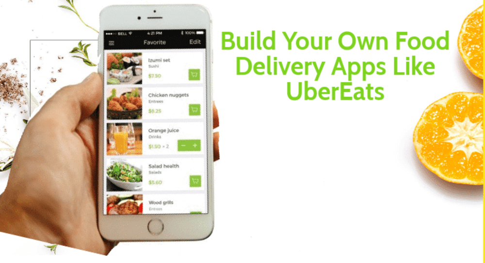 Image showing how to build the apps like ubereats